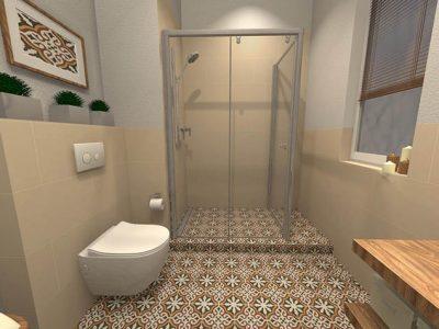 vizualizácia a realizácia kúpeľne
